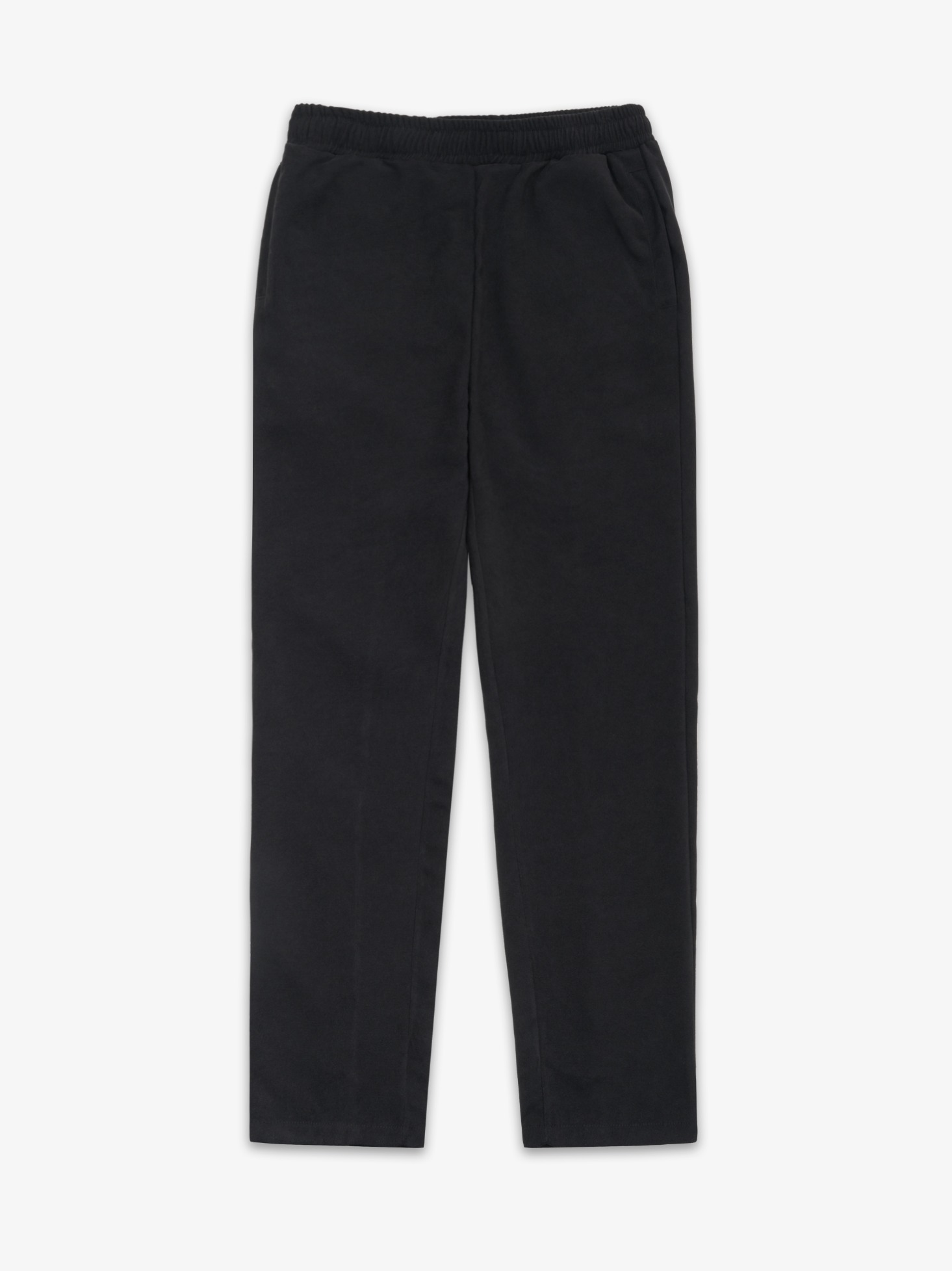 3-DIMENSIONAL PANTS(BLACK SUEDE)