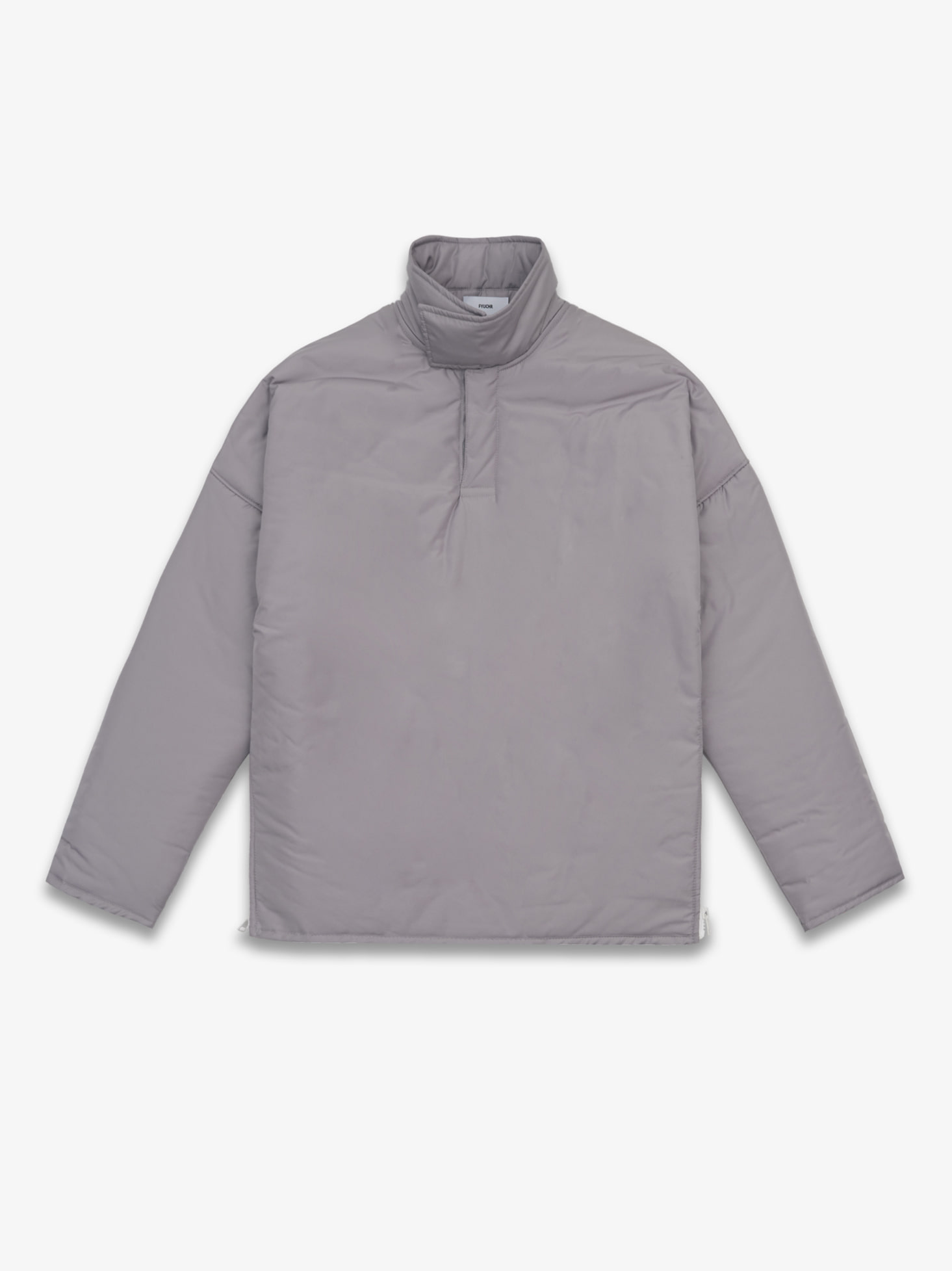 HIGH NECK PULLOVER (PURPLE GREY)