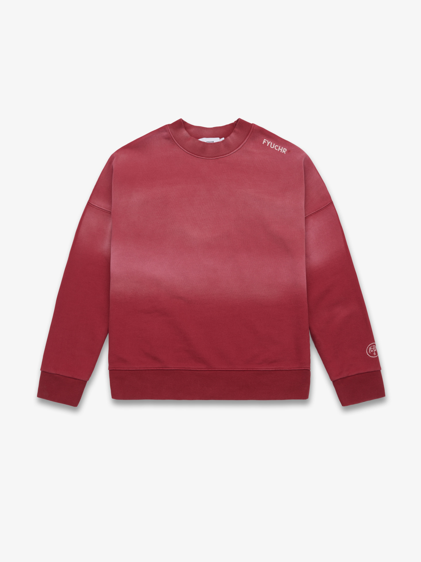 COLOR GRADIENT CREWNECK SHIRTS (RED) 시즌오프 50% 특별할인 81,000원 ->