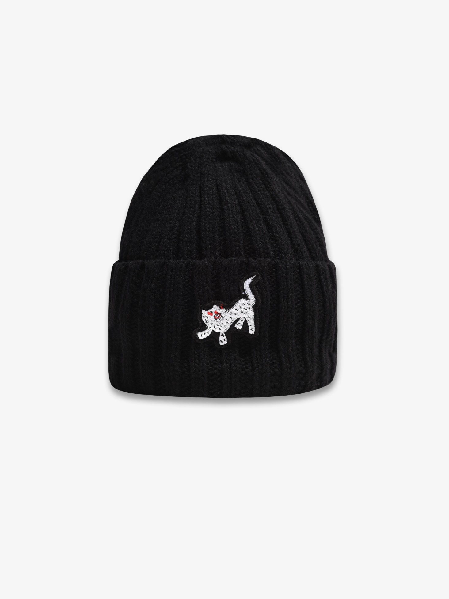 LAMBS WOOL BEANIE (HOPYO BLACK) 시즌오프 75% 특별할인 45,000원 ->