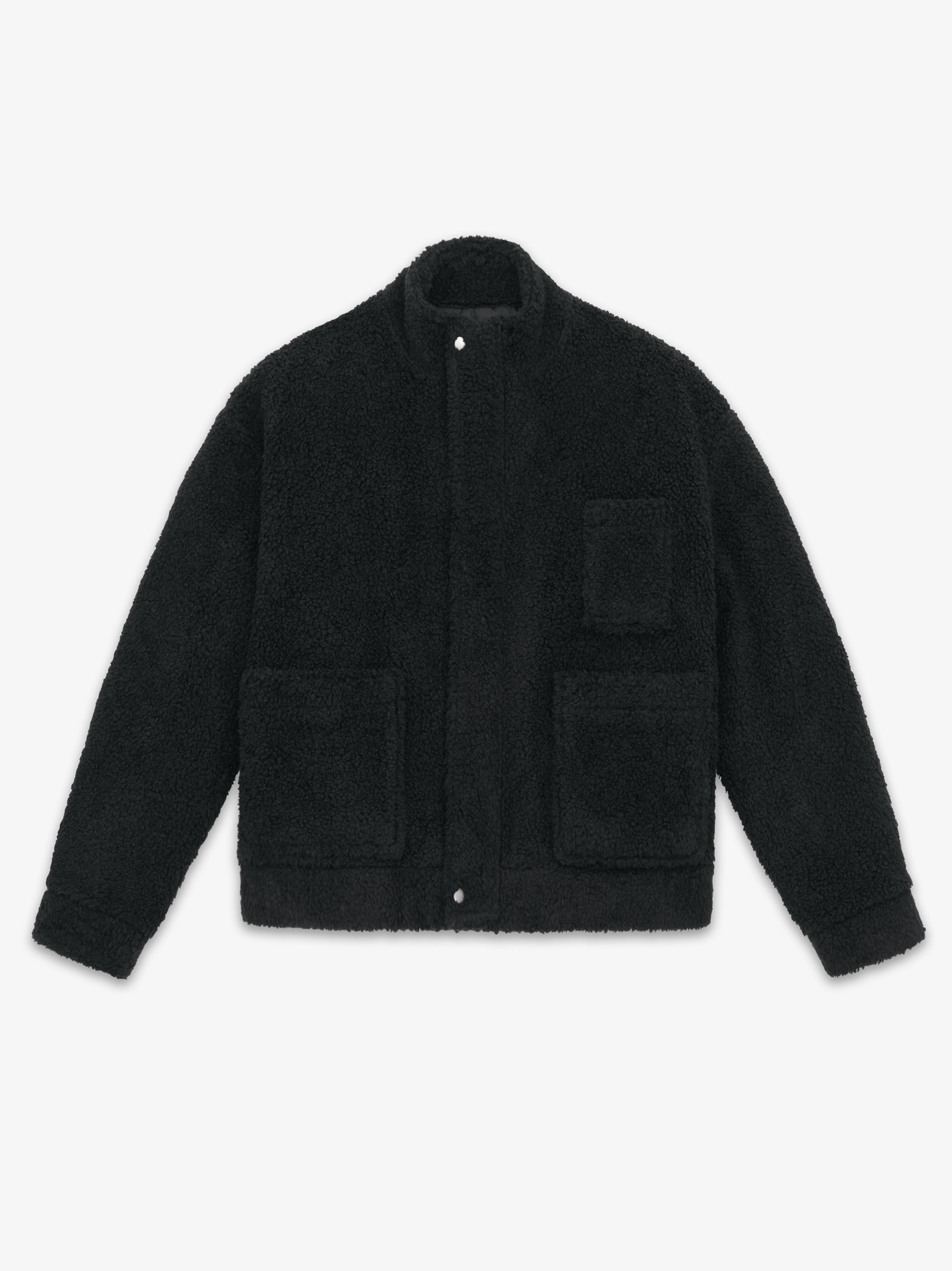 LAMBS WOOL MOBILE JACKET(BLACK) 시즌오프 60% 특별할인 248,000원 ->
