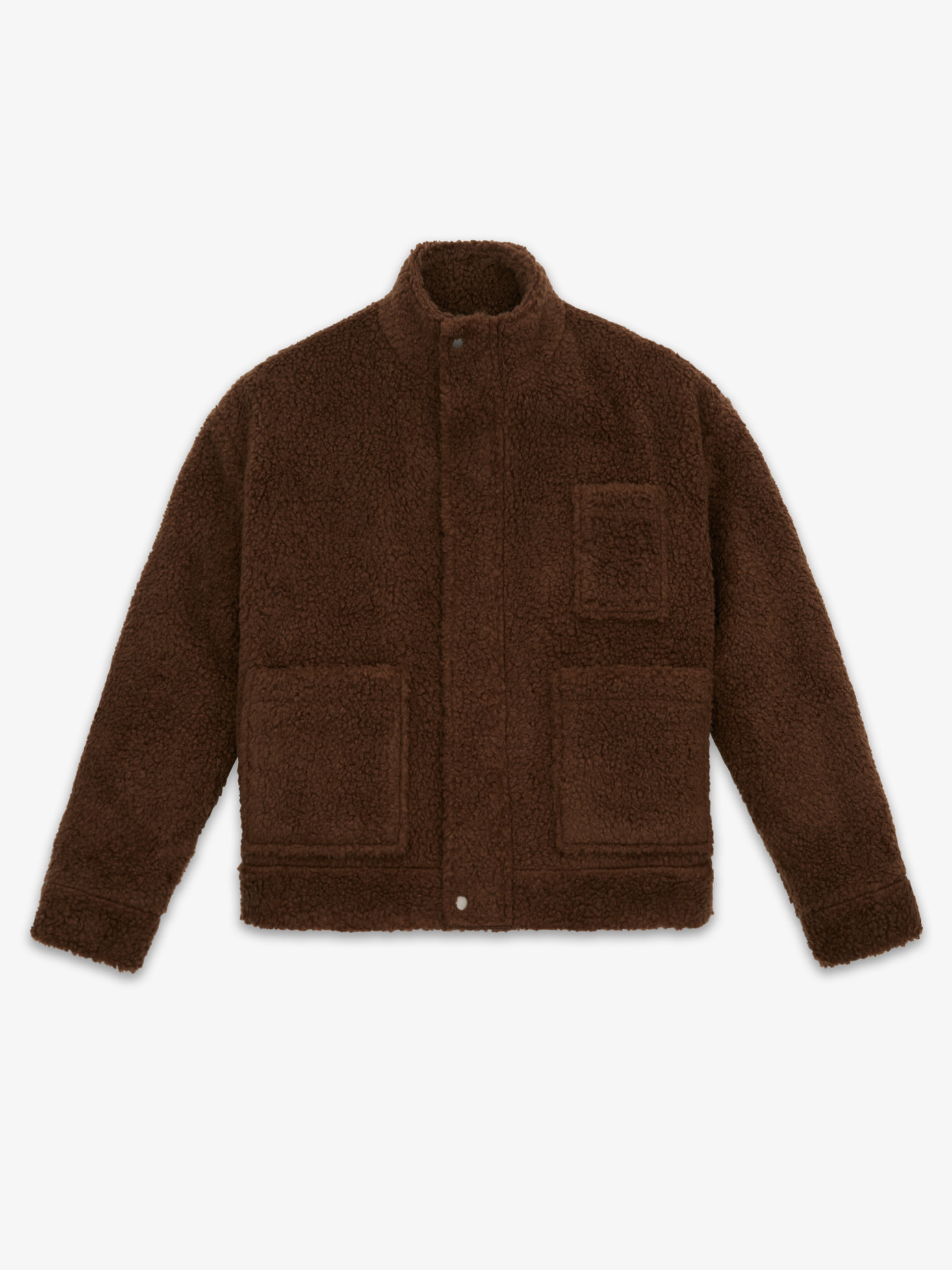 LAMBS WOOL MOBILE JACKET(BROWN) 시즌오프 60% 특별할인 248,000원 ->