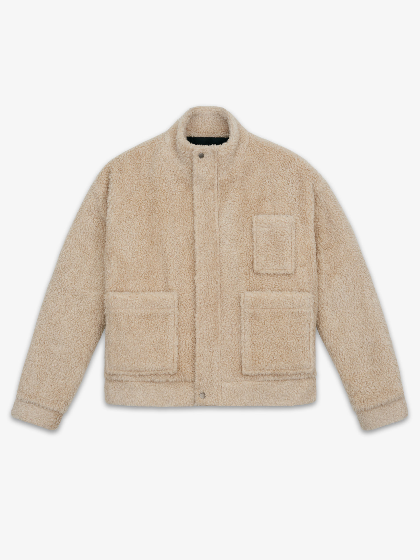 LAMBS WOOL MOBILE JACKET(BEIGE) 시즌오프 60% 특별할인 248,000원 ->
